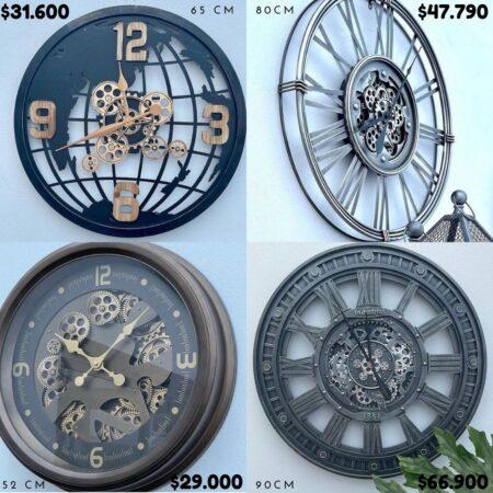 Reloj Pared VER PRECIO EFECTIVO Y MEDIDA EN FOTO!!!
